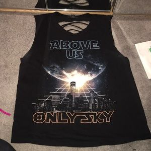 Above Us Only Sky Star Wars shirt